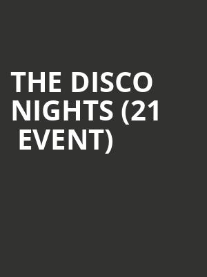 The Disco Nights (21+ Event) at Rockwood Music Hall