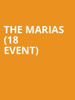 The Marias (18+ Event) at Bowery Ballroom