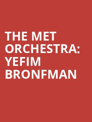 The Met Orchestra%3A Yefim Bronfman at Isaac Stern Auditorium