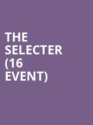 The Selecter (16+ Event) at Gramercy Theatre