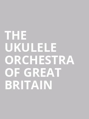 The Ukulele Orchestra Of Great Britain at Isaac Stern Auditorium