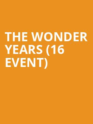 The Wonder Years (16+ Event) at Webster Hall