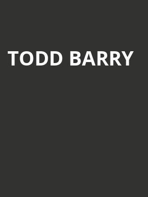 Todd Barry at New York City Winery