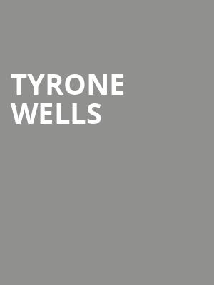 Tyrone Wells at New York City Winery