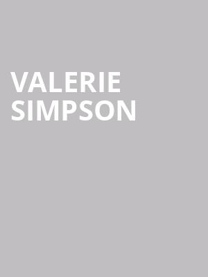 Valerie Simpson at Chase Room