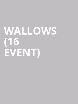 Wallows (16+ Event) at Bowery Ballroom