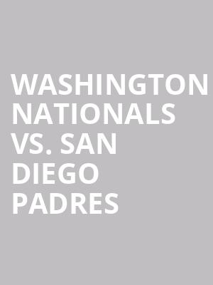 Washington%20Nationals%20vs.%20San%20Diego%20Padres at 13th Street Repertory Theater