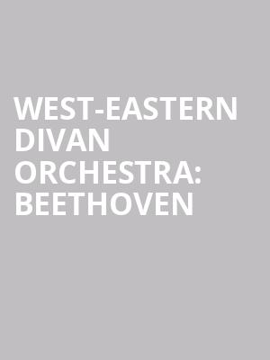 West-Eastern%20Divan%20Orchestra:%20Beethoven at Isaac Stern Auditorium