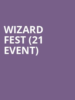 Wizard Fest (21+ Event) at Rocks Off Concert Cruise