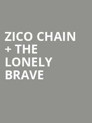 Zico Chain %2B The Lonely Brave at Concert Hall At Suny Purchase