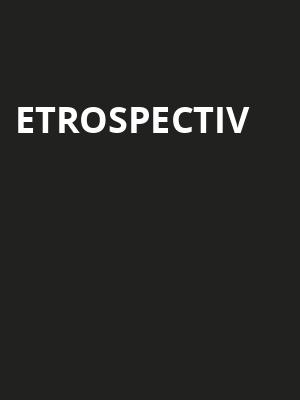etrospectiv at Concert Hall At Suny Purchase