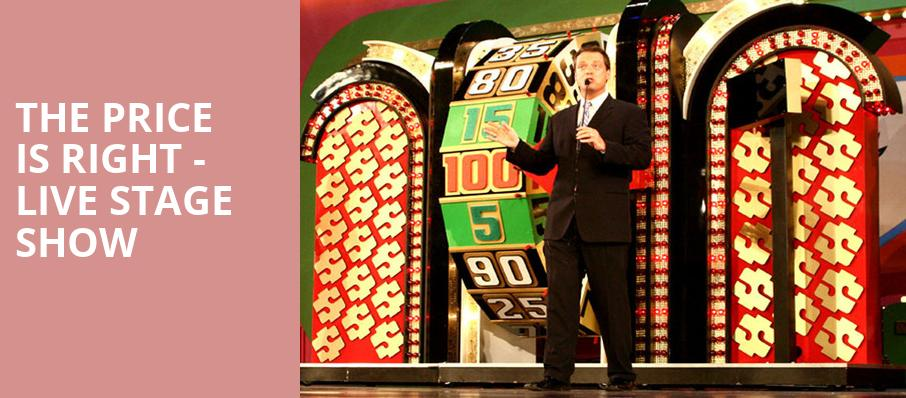 The Price Is Right Live Stage Show Paramount Theatre Asbury Park Nj Tickets Information Reviews
