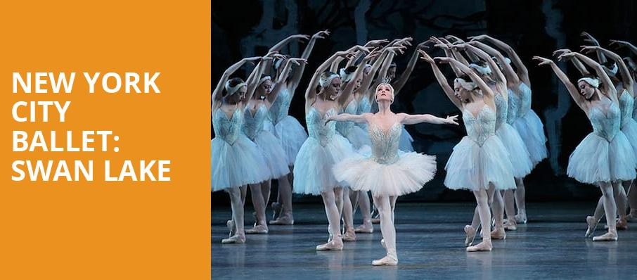 New York City Ballet Swan Lake, David H Koch Theater, New York