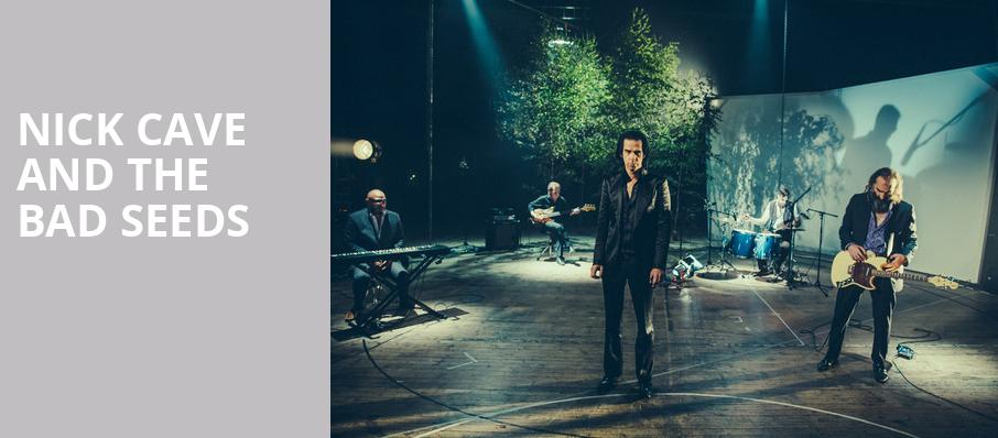 Nick Cave and The Bad Seeds, Barclays Center, New York