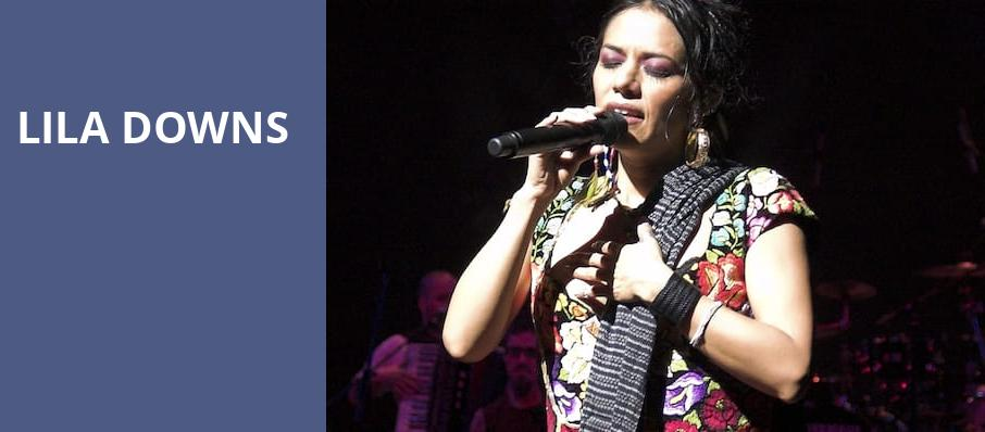 Lila Downs, Playstation Theater, New York