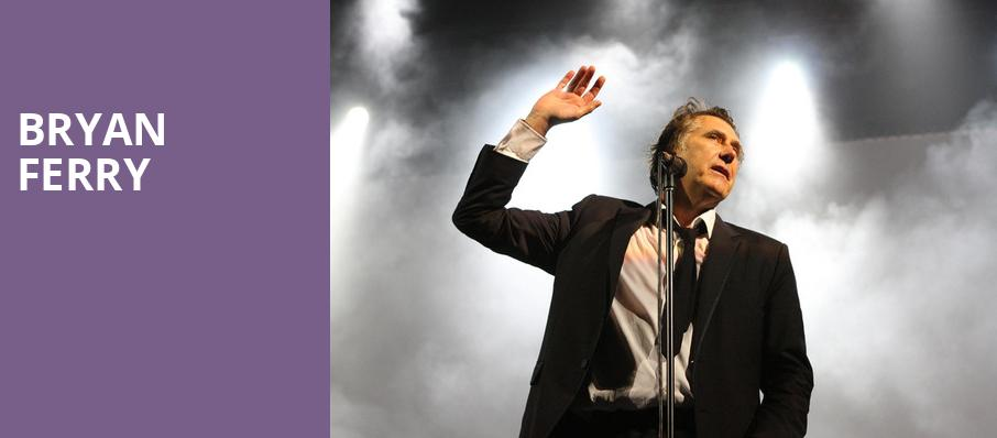 Bryan Ferry, United Palace Theater, New York
