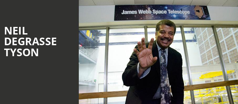 Neil DeGrasse Tyson, Hackensack Meridian Health Theatre, New York