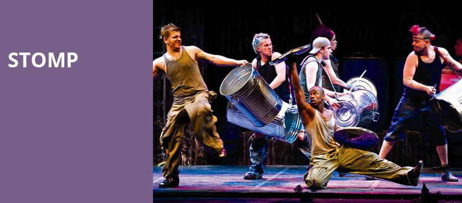 Stomp, Orpheum Theater, New York