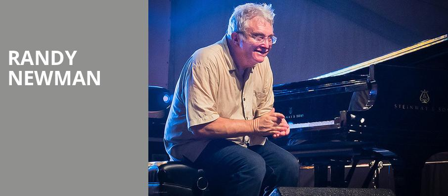 Randy Newman, Count Basie Theatre, New York