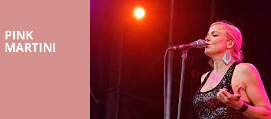 Pink Martini, Mccarter Theatre Center, New York