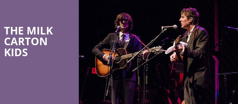 The Milk Carton Kids, Tarrytown Music Hall, New York