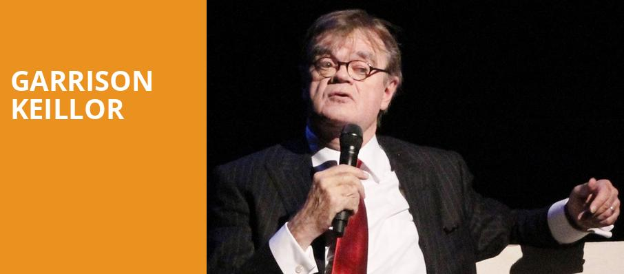 Garrison Keillor, Tarrytown Music Hall, New York