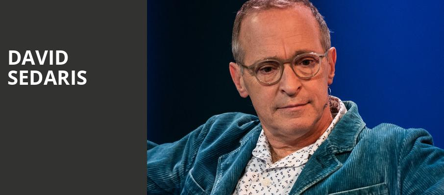 David Sedaris, Town Hall Theater, New York