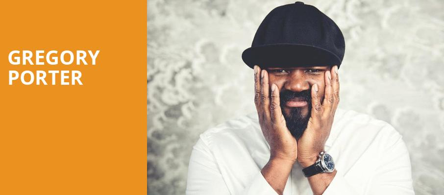 Gregory Porter, Prudential Hall, New York