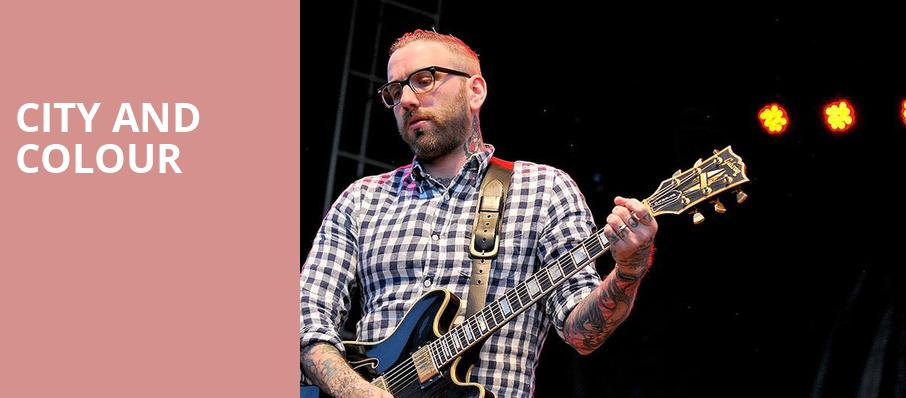 City And Colour, Town Hall Theater, New York