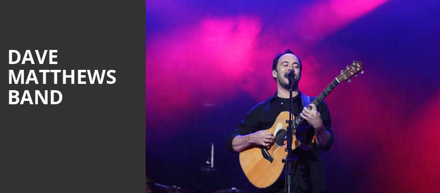 Dave Matthews Band, Madison Square Garden, New York