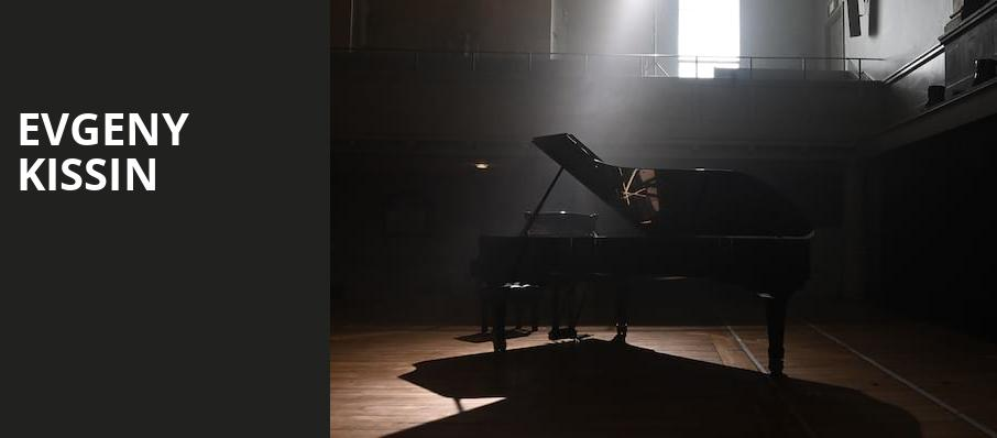 Evgeny Kissin, Isaac Stern Auditorium, New York