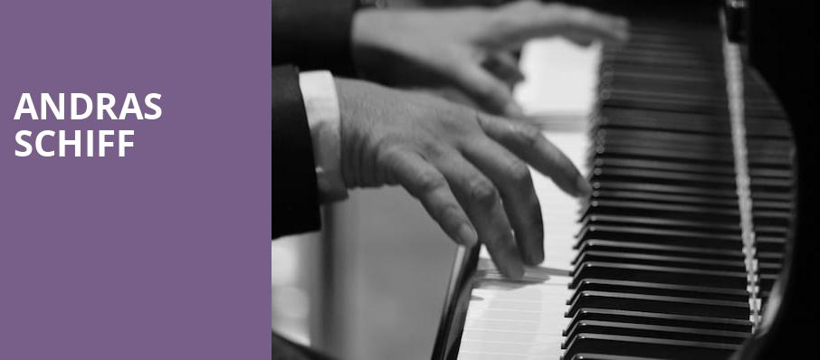 Andras Schiff, Isaac Stern Auditorium, New York