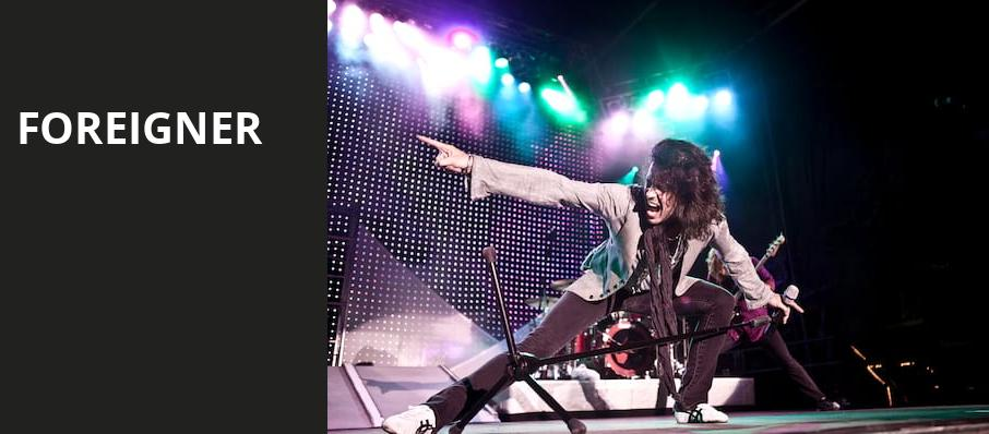 Foreigner, Bergen Performing Arts Center, New York