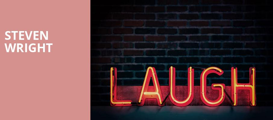 Steven Wright, Bergen Performing Arts Center, New York