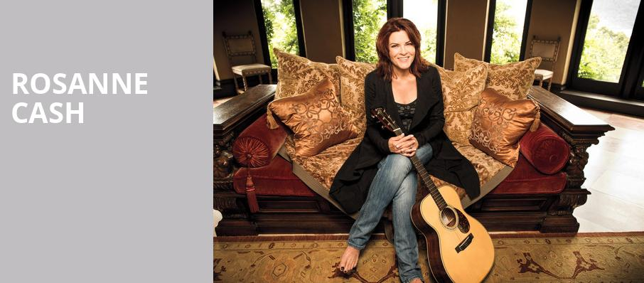 Rosanne Cash, Mccarter Theatre Center, New York