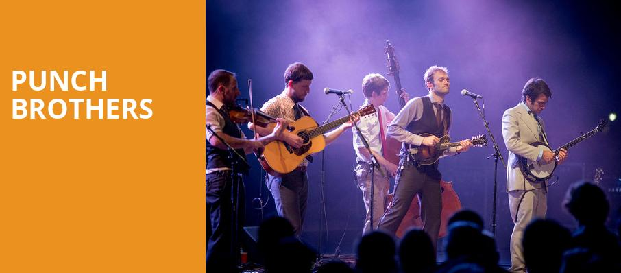 Punch Brothers, Beacon Theater, New York