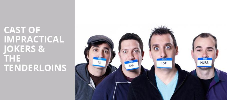 Cast Of Impractical Jokers The Tenderloins, Nassau Coliseum, New York