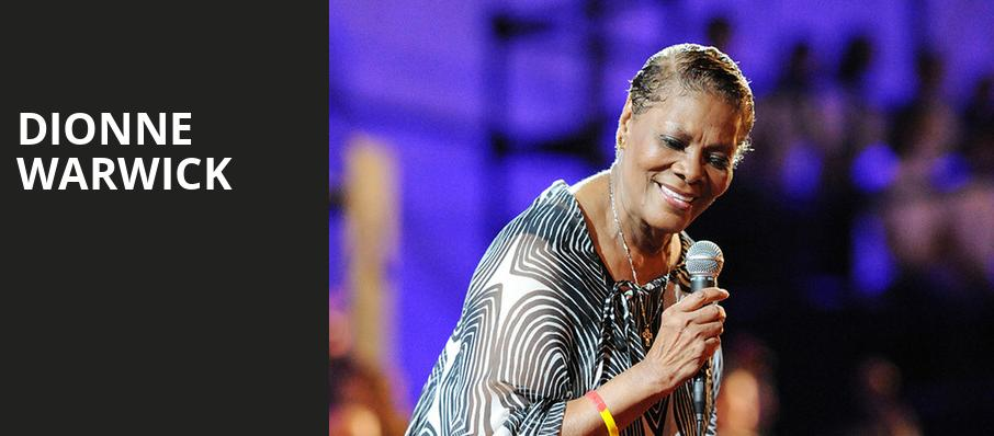 Dionne Warwick, Beacon Theater, New York