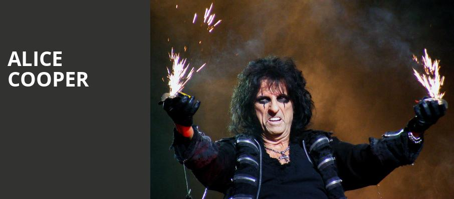 Alice Cooper, Bethel Woods Center For The Arts, New York
