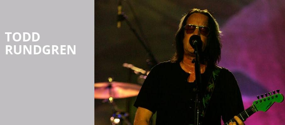 Todd Rundgren, Count Basie Theatre, New York