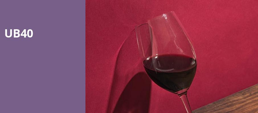 UB40, Sony Hall, New York