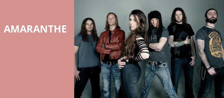 Amaranthe, Gramercy Theatre, New York