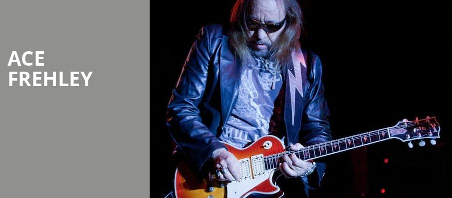 Ace Frehley, Bergen Performing Arts Center, New York