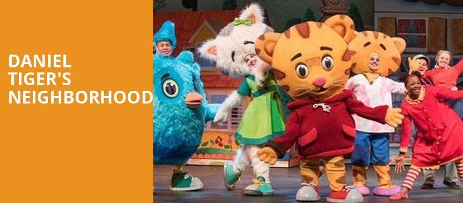 Daniel Tigers Neighborhood, Bergen Performing Arts Center, New York