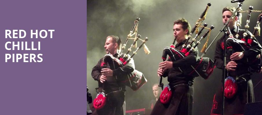 Red Hot Chilli Pipers, Tarrytown Music Hall, New York