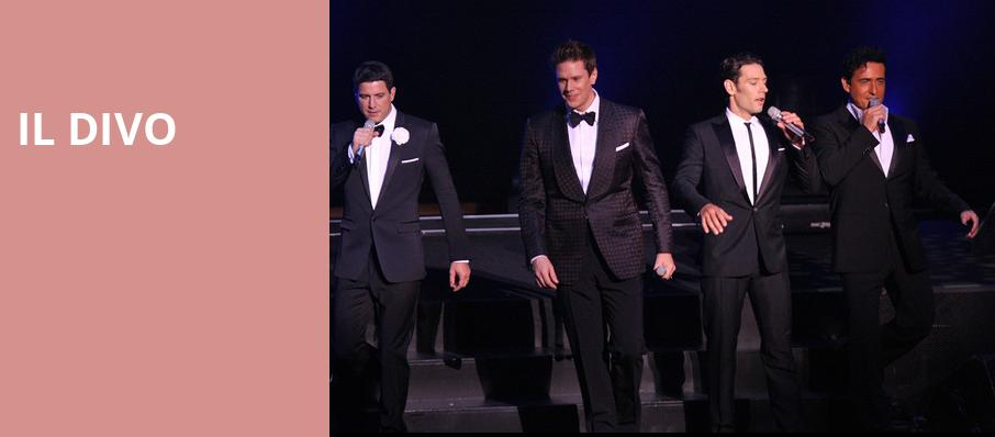 Il Divo, NYCB Theatre at Westbury, New York