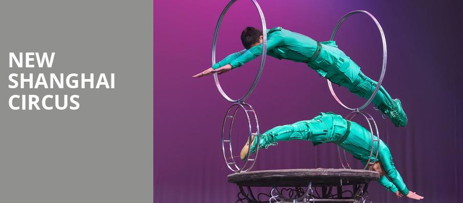 New Shanghai Circus, Bergen Performing Arts Center, New York