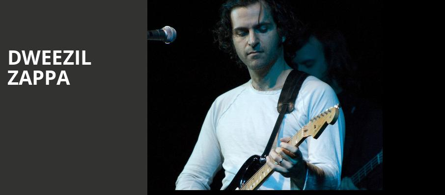 Dweezil Zappa, Tarrytown Music Hall, New York