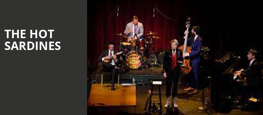 The Hot Sardines, Mccarter Theatre Center, New York