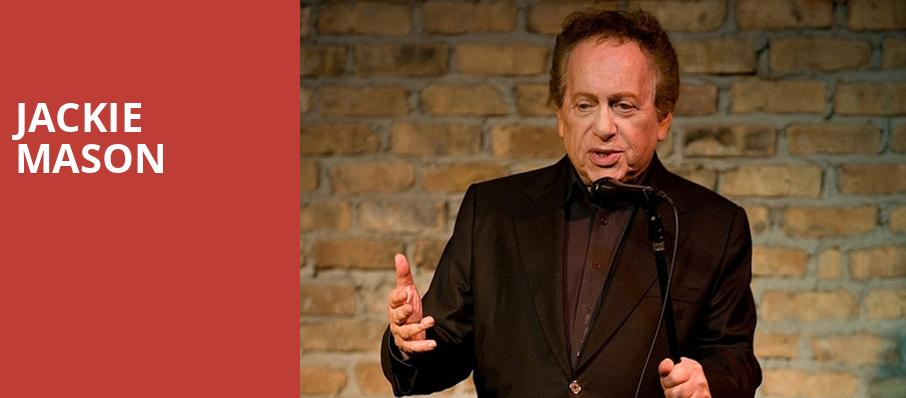 Jackie Mason, NYCB Theatre at Westbury, New York